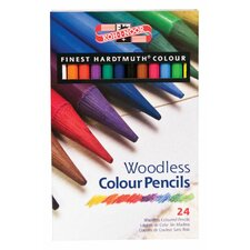 Woodless Color Pencil (Set of 24)