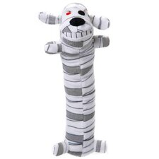 Loofa Halloween Mummy Dog Toy