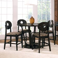 Optima 5 Piece Counter Height Dining Set