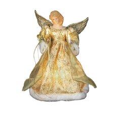 10 Light Dress Angel Tree Topper