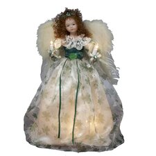 10 Light Irish Angel Tree Topper