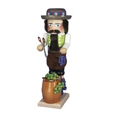 Steinbach Wind Up Musical Winemaker Nutcracker