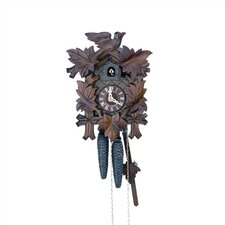 "12"" Traditional Cuckoo Clock with Wooden Dial"