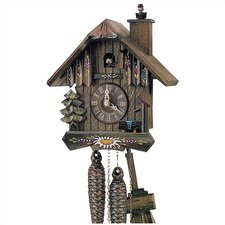 "8"" Cuckoo Clock with Chimney Sweep"