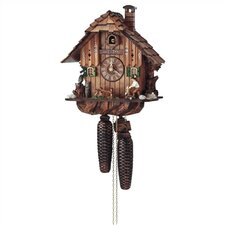 "12"" 8-Day Movement Cuckoo Clock with Owl and Squirrel"