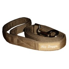 Mesh Matching Dog Leash in Tan