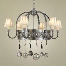 Leaf Chandelier Pot Rack