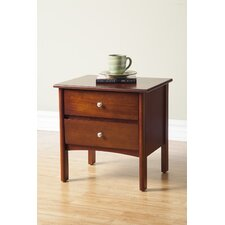 Costa 2 Drawer Nightstand
