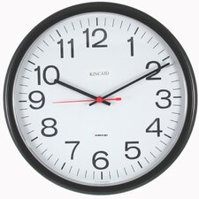 Always Set ™ Tubular Wall Clock in Black