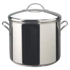 Classic Stainless Steel 12 Quart Covered Stockpot