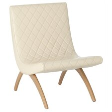 Danforth Quilted Leather Chair