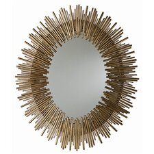 Prescott Iron Oval Mirror