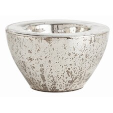 Cyd Large Distressed Mercury Bowl