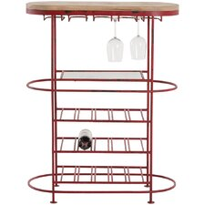 Hetty Bar 15 Bottle Tabletop Wine Rack