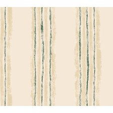 Whimsical Children's Vol. 1 Texture Stripe Wallpaper in Hunter