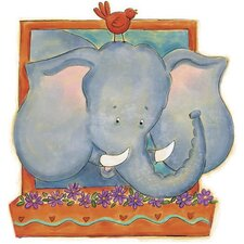Elephant Panel Wall Decal
