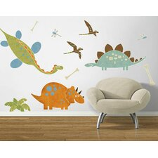Dino Might Accent Wall Decal