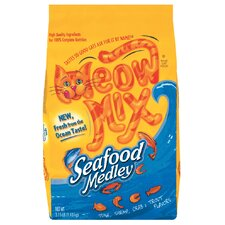 Seafood Medley Dry Cat Food