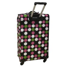 "28"" Multi Dots 360 Quattro Upright Spinner Suitcase"