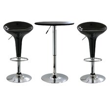 "25"" AmeriHome Bar Stool Set"