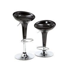 Adjustable Molded Bar Stool (Set of 2)