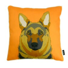 German Shepard Polyester Pillow