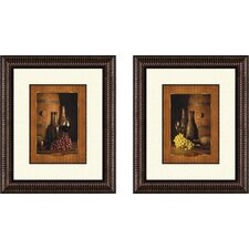 Kitchen Vineyard Tour Framed Art (Set of 2)
