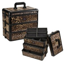 Professional 3-Tier Cosmetic Makeup Case