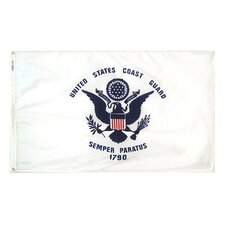 Armed Forces United States Coast Guard Traditional Flag