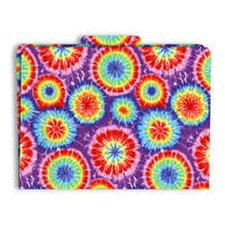 Functional File Folders Tie-dye