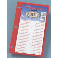 Us Presidents Flip Up Study Guide