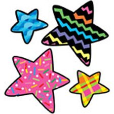 Stars Poppin Patterns Stickers