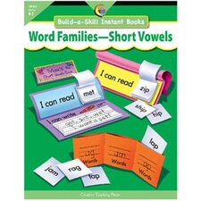 Word Families-short Vowels Build-a-