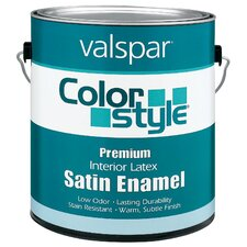 1 Gallon Tint Base ColorStyle® Interior Latex Satin Enamel Wall Pa
