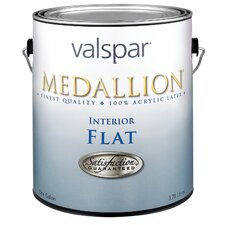 1 Gallon Clear Base Medallion Interior 100% Acrylic Flat Wall Paint