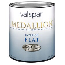 1 Quart Tint Base Medallion Interior 100% Acrylic Flat Wall Paint