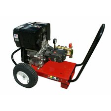 3000 PSI Cold Water Diesel Cart Pressure Washer