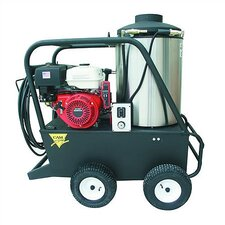 Q Series 2500 PSI Diesel Hot Water Gas Pressure Washer