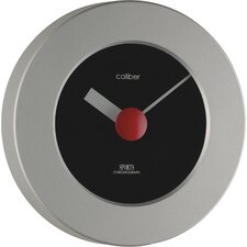Caliber Sports Wall Clock in Grey and Black