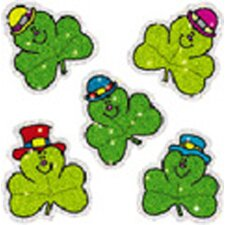 Dazzle Stickers Shamrocks 75-pk