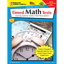 Timed Math Tests Multiplication &
