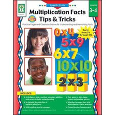 Multiplication Facts Tips Tricks