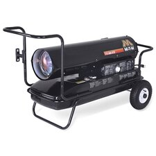 400,000 BTU Forced Air Utility Kerosene Portable Space Heater