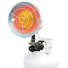 15,000 BTU Radiant Tank Top Propane Portable Space Heater
