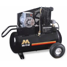 2 HP Electric / 20 Gallon Single Stage Wheelbarrow Air Compressor