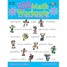 100 Math Workouts Gr 6-8