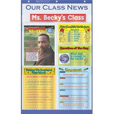 Our Class News Pocket Chart Gr K-5