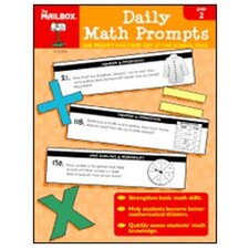 Daily Math Prompts Gr 2