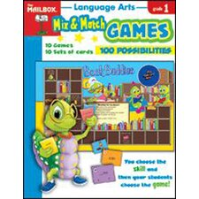 Mix Match Games Language Arts Gr 1