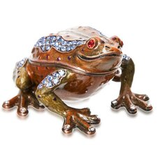 Vanity Happy Toad Crystal Box